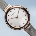 BERING Classic 12034-064 damski zegarek  damski zegarek na bransolecie meshowej
