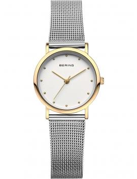 13426-010 BERING Classic damski zegarek na bransolecie meshowej