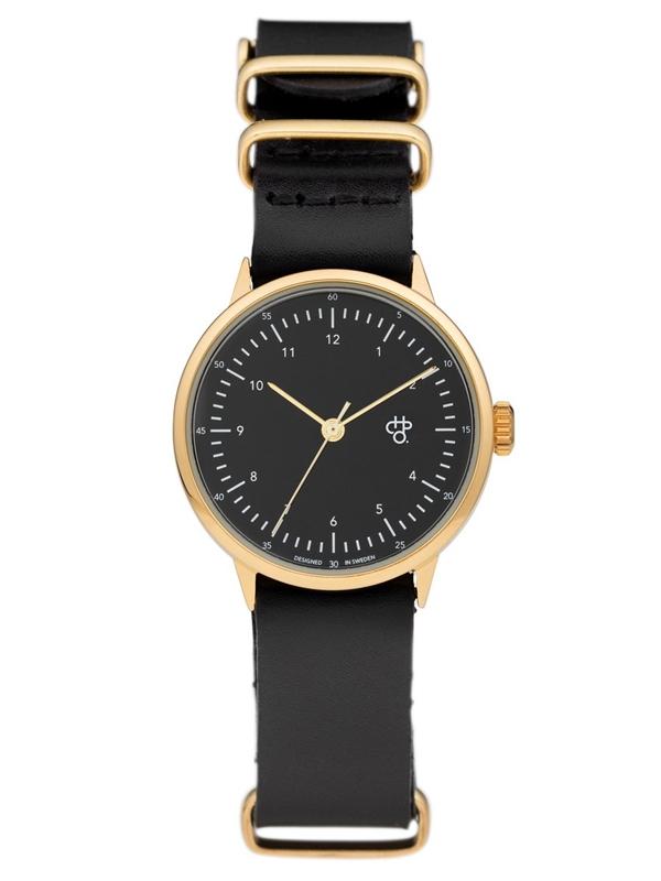 zegarek CHEAPO Harold Mini Gold Black