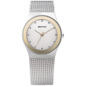 12927-010 BERING Classic damski zegarek na bransolecie meshowej