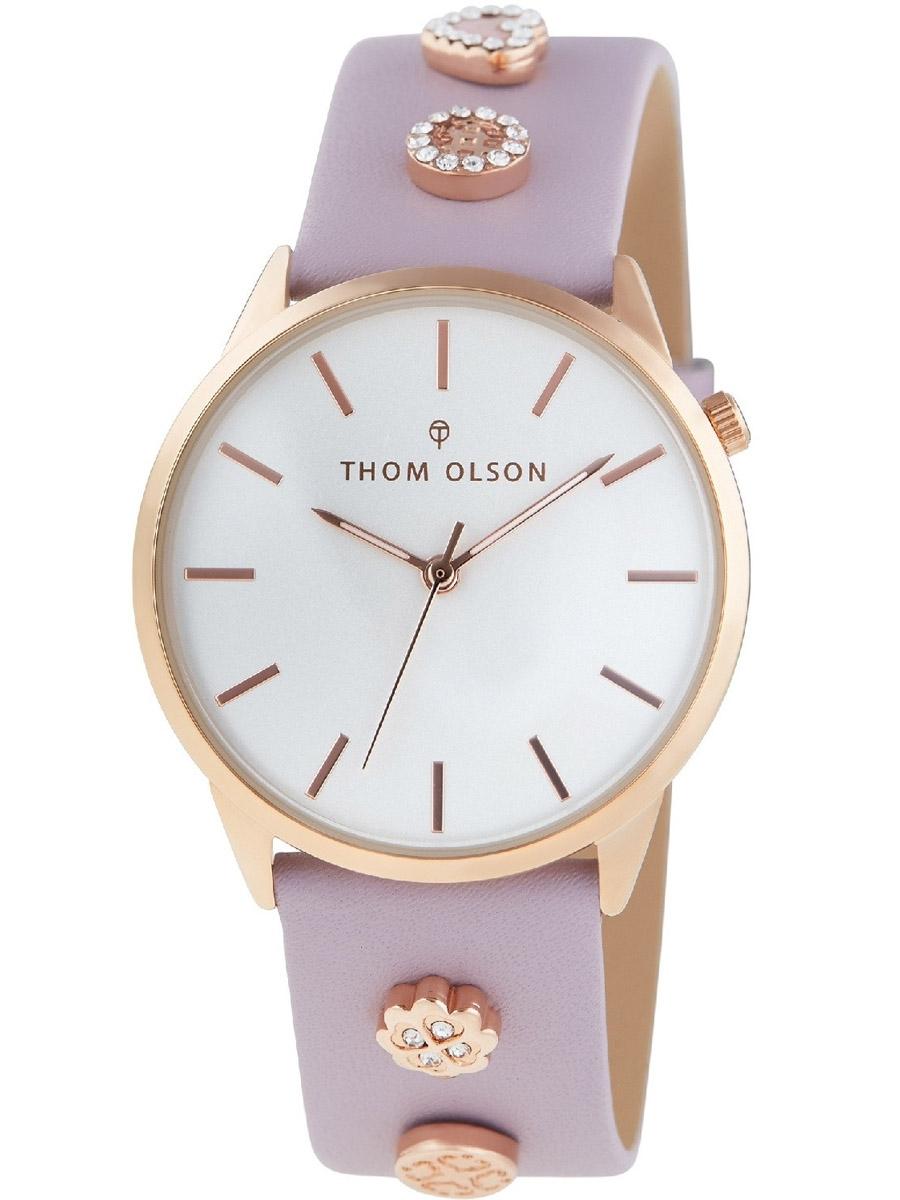 CBTO020 THOM OLSON Gypset zegarek damski na pasku skórzanym