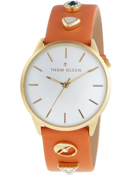 CBTO019 THOM OLSON Gypset damski zegarek na pasku skórzanym