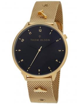 CBTO006 THOM OLSON Night Dream złoty zegarek damski