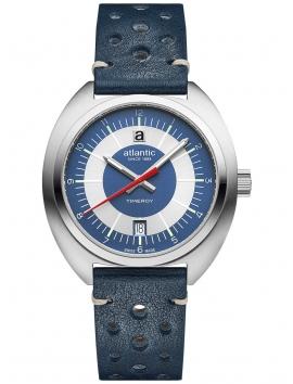 70362.41.55 ATLANTIC Timeroy męski zegarek na pasku skórzanym