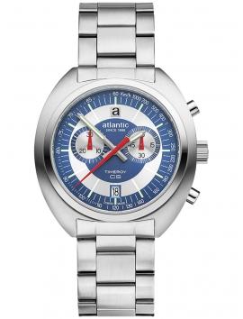 70467.41.55 ATLANTIC Timeroy CS Chrono męski zegarek na bransolecie