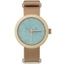 NEAT New Hoop  N067 damski zegarek na pasku materiałowym