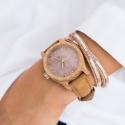 NEAT Classic 38 N033 drewniany zegarek Neat