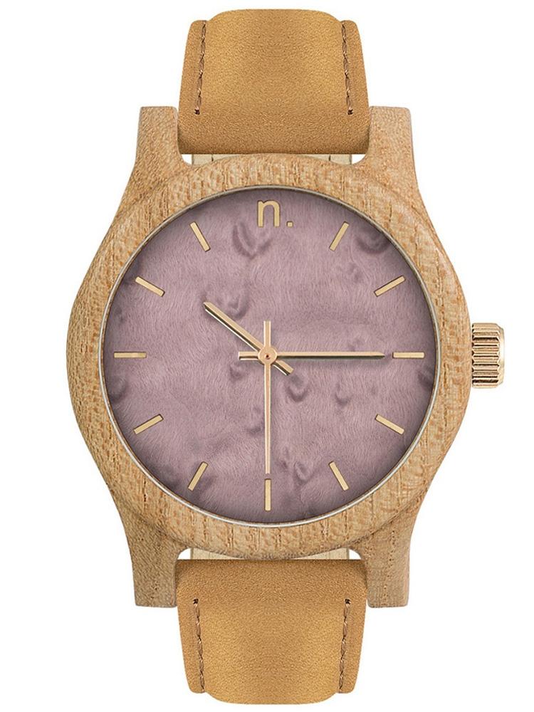 NEAT Classic 38 N033 damski zegarek drewniany