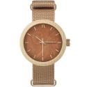N070 NEAT New Hoop 38 damski zegarek drewniany