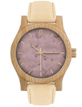 Neat N080 damski zegarek drewniany