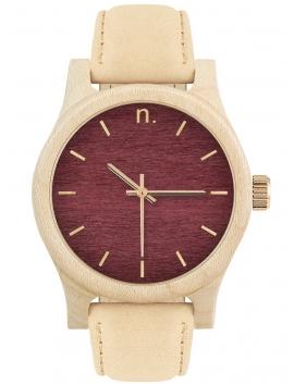 Neat N034 damski zegarek na pasku skórzanym