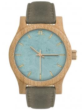 Neat N038 drewniany zegarek damski