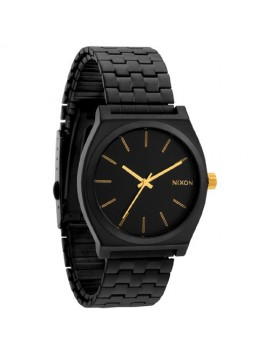 NIXON Time Teller Matte Black/ Gold