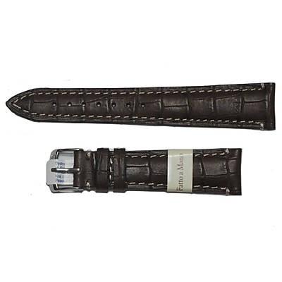 pasek ciemno brązowy do zegarka