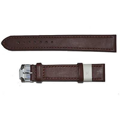 pasek brązowy skórzany do zegarka