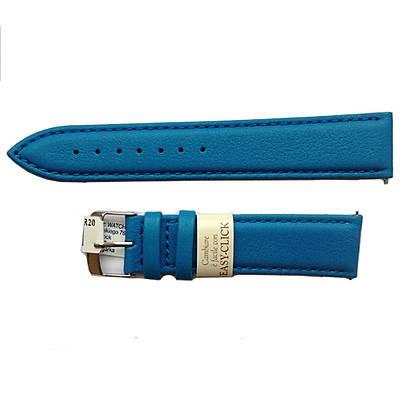pasek easy klik w kolorze niebieskim do zegarka