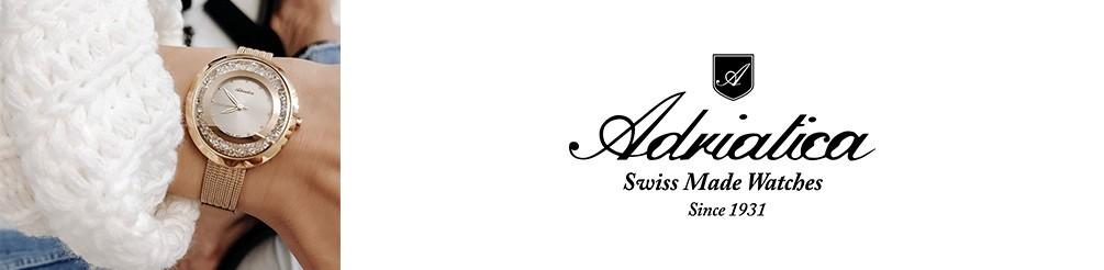 Zegarki Adriatica- swiss made-zegarki damskie i męskie