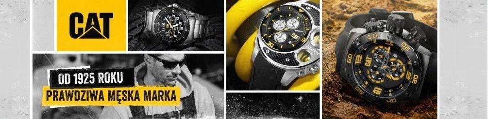 Zegarki CAT - zegarek budowlany Caterpillar