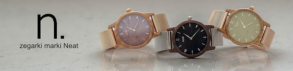 Zegarki Neat - zegarki drewniane męskie i damskie