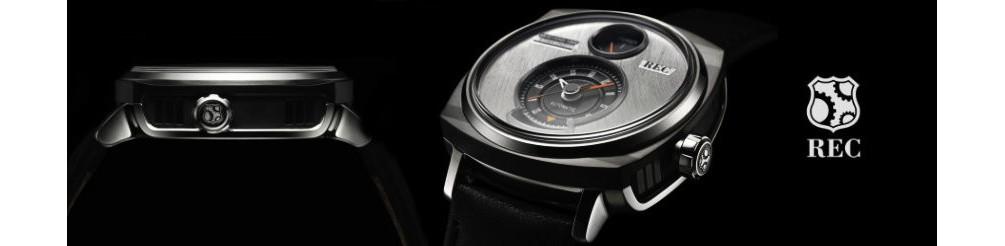 męskie zegarki rec, zegarek z recyklingu pojazdów