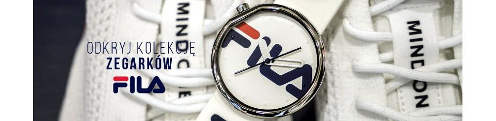 Zegarki FILA - zegarki sportowe damskie i męskie