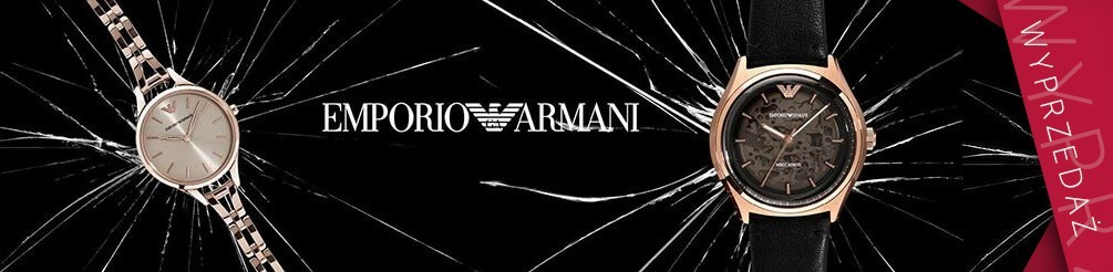 Zegarki Armani oryginalne