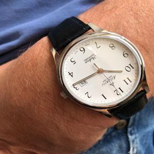 szwajcarski zegarek Atlantic