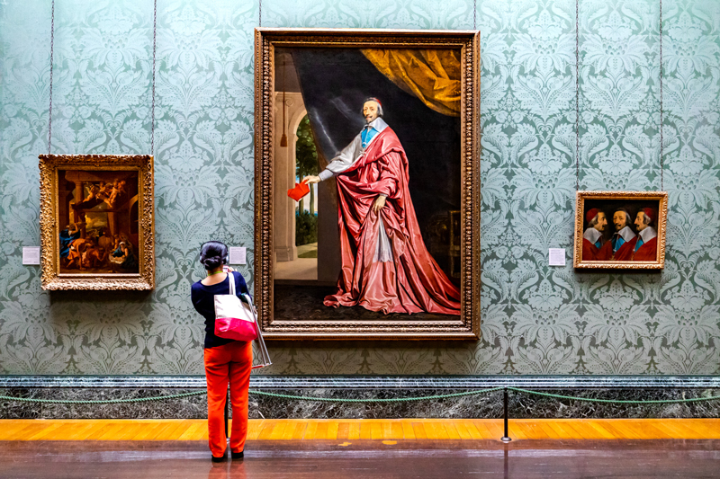 II wyróżnienie Leszek Wybraniec Oko w oko z kardynałem Richelieu