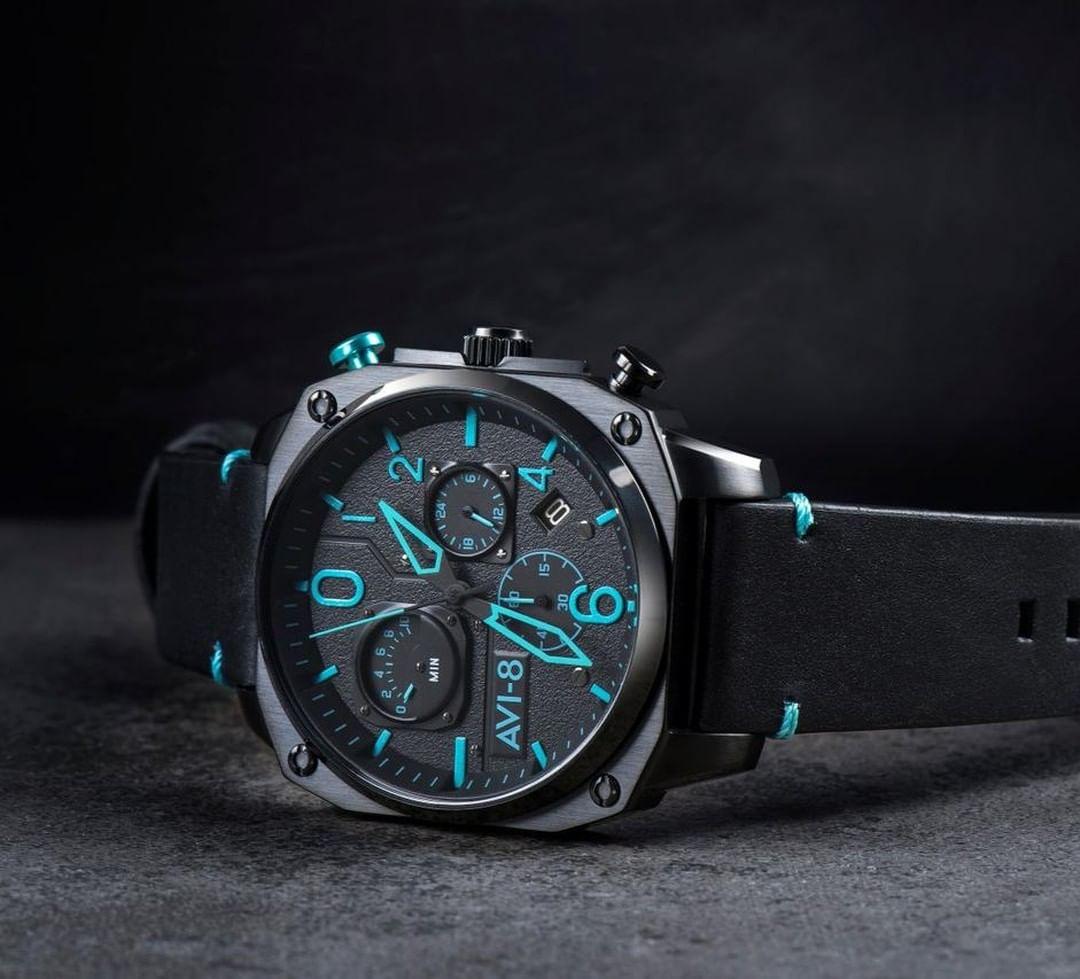 Zegarki lotnicze dla mężczyzny