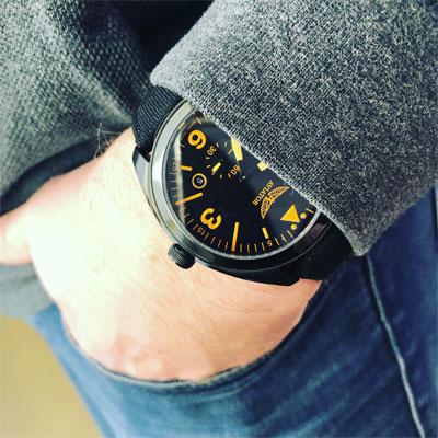 szwajcarskie zegarki aviator