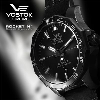 zegarki automatyczne Rocket N1