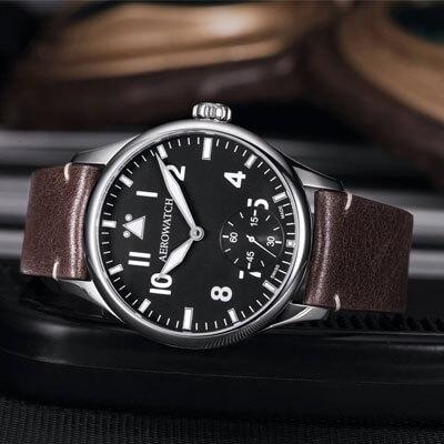 Zegarki lotnicze Aerowatch