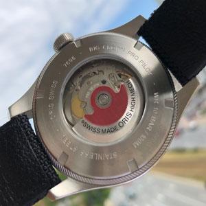 dekiel szwajcarskiego zegarka oris