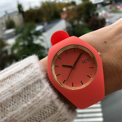 zegarek peach pink Ice Watch