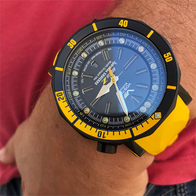 Zegarek męski limitowany Saviskas Vostok Europe