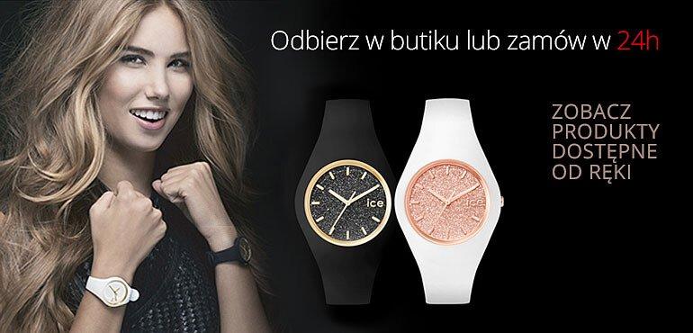 sklep z zegarkami od ręki