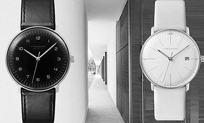 Mniej znaczy więcej -zegarki Max Bill by Junghans