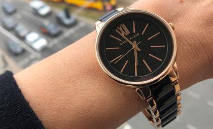 Anne Klein-damski zegarek na bransolecie do 300 złotych