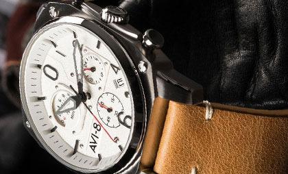 Zegarki Aviator i Avi-8 czyli najbardziej odlotowe zegarki